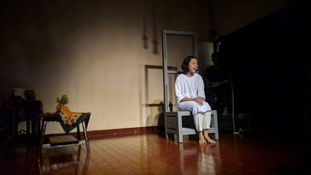 Teater Tesa FIB UNS, Pentas Monoplay Bertajuk Transisi