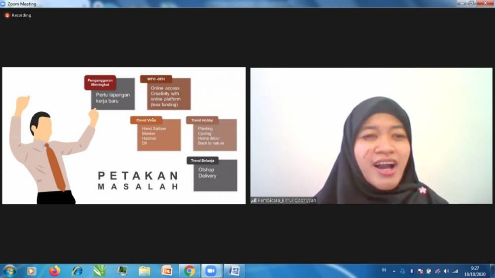 Sarasati Community (SSC) FIB, Adakan Safik 2020 dengan Pembahasan Peran Pemuda Berkontribusi Kreatif Berbasis Kearifan Lokal Guna Mewujudkan SDG's 2030
